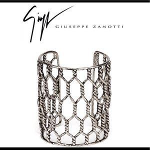 giuseppe zanotti • NEW • chain cuff bracelet